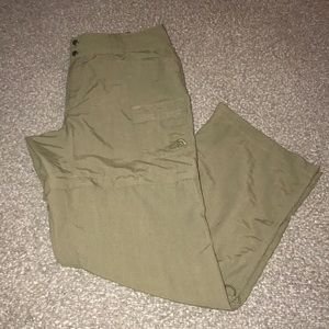 Women's North Face Convertible Hiking Pants